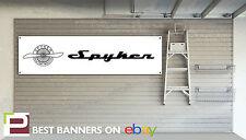 Spyker Workshop Garage Banner, C8, B6, F1