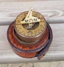 Brass Push Button Pocket Compass Maritime Compass T. COOKE LONDON