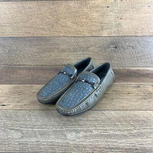 Mecca Craig Bit Buckle ME-4102 Olive Slip-On Loafer Driver Shoe Men's Size 13