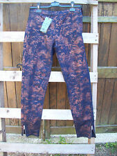 NEUF pantalon noir et cuivre irisé Mado et les Autres taille 36