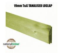 T&G Pressure Treated loglap Cladding Ex 125mm x 22mm Price Sold Per Meter