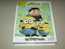 MY BUSY BOOK MINIONS THE RISE OF GRU STORYBOOK 10 FIGURES AND PLAYMAT NEW