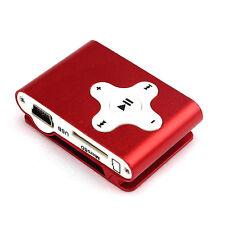 Moda mini clip del metallo musica MP3 Media Player Micro deviazione standard TF