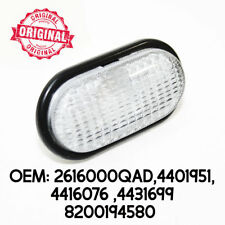 White Clear Side Indicator Repeater Lamp Signal Light For Renault Megane 99-02