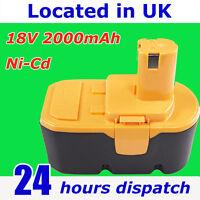 Drill Battery BPP-1815 BPP-1817M BPP-1820 For Ryobi 18V ONE+ 1322401 B-1815-S