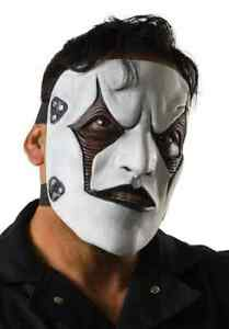 Jim Root Mask James Slipknot Gray Chapter Tour Halloween Adult Costume Accessory