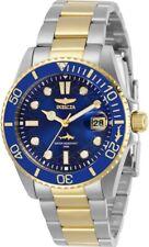 Invicta Women's 30481 Pro Diver Quartz 3 Hand Blue Dial Watch