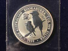 1999 Kookaburra DE, NJ & Georgia Privy Coin 1 Troy Oz .999 Fine Silver LOT of 3