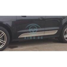 NEW Aluminium door side sill trim Nerf bar for Porsche Macan S Turbo 2014 2015