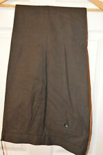 Jaeger Mens Brown Textile Trousers Size W36/L32