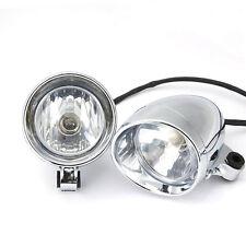 2x Headlight Spot Fog Light For Yamaha V-Star XVS 650 950 1100 Custom Silverado