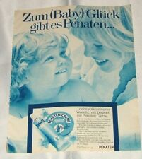 PENATEN Original-Werbeanzeige 1973  Reklame Werbung.
