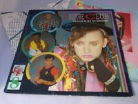Culture Club:  Colour by Numbers  EX+  UK A1/B6   LP + inserts + tour programme