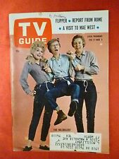 N Texas February 27 TV GUIDE 1965 BEVERLY HILLBILLIES Donna Douglas Bob Crane