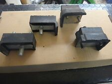 Peugeot 504 1st make Differential Mounting - Cale (Complete set - 4 pieces)