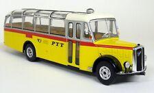 Ixo Models 1/43 - BUS003 Saurer  L4C 1959 PTT Diecast model Bus Coach