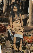 F75/ Native American Indian Postcard c1910 1912 Vancouver Canada Maiden 8