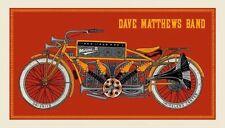 2016 DAVE MATTHEWS BAND MOLINE MUSIC MOTORCYCLE CONCERT POSTER 6/28 IL BONUS S/N