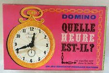 Domino Quelle heure est-il, Fernand Nathan, 1968 - Cavahel Vintage
