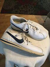 "NIKE shoes ""Swoosh"" 'Cortez 72' White and Blue Size 9 vintage"