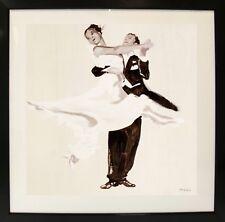 """Tango Four"" (Framed Art Decorative Dance Romantic Home Decor)"