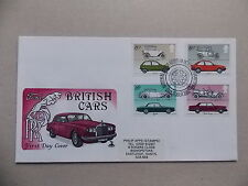 Cars Great Britain Definitive First Day Covers (1971-Now)