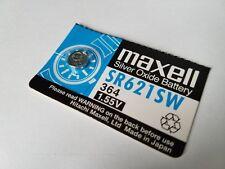 Watch battery SR621SW, 364, 1.55V