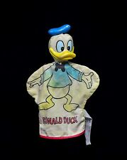 """Vintage Disney Hand Puppet """"Donald Duck"""" Rare and fragile. Made in Korea."""