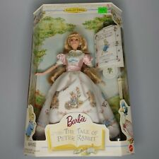 1997 The Tale Of Peter Rabbit Barbie Collector Edition Vintage Authentic NIB