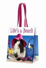 Guinea Pig aeróbic Life's a Playa Largo Manejado Compras Bolso PVC Bolso