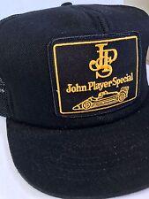 John Player Special F1 Racing Vintage Trucker Hat cap Snap Back Mesh Formula 1
