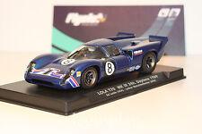 Slot SCX Scalextric Flyslot 705102 Lola T70 MKIII 24H Daytona 1969 Ed Leslie