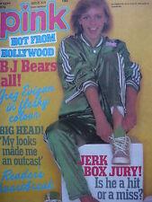 PINK MAGAZINE SEPT 1979 BAY CITY ROLLERS - IAN MITCHELL BAND - PARKER STEVENSON