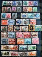 Saargebiet ab 1920 - Dienstmarken 75 Werte gestempelte Ausgaben
