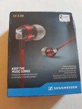 Sennheiser CX 3.00 In-Ear Only Headphones - Black for iPhone mp3 galaXY plus