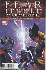 Wolverine Fear Itself Comic Issue 2 Modern Age First Print Peck Brown 2011