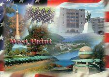 US Military Academy, West Point, New York, George Washington Statue etc Postcard