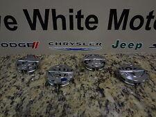 11-13 Chrysler 200 300 New Wheel Center Cap Chrome Set Of Four Mopar Factory Oem