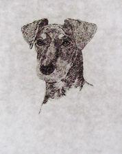 GEOFFREY LASKO - MANCHESTER TERRIER DOG - LISTED ARTIST ETCHING -S&N - FREE SHIP