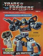 BRAND NEW TRANSFORMERS G1 GENERATION 1 - STEPPER RICOCHET BLACK JAZZ TRU REISSUE