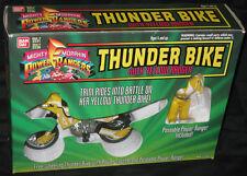 THUNDER BIKE YELLOW RANGER MIGHTY MORPHIN POWER RANGERS 1994 BANDAI MIP
