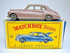 "MATCHBOX rw 44b rolls royce phantom rare GRISE roues dans ""D"" - Box"