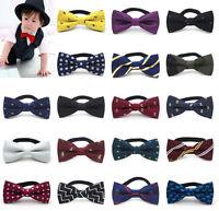 Fashion Children Kids Baby Boys Girls Party Wedding Bowtie Bow Tie Necktie Gift