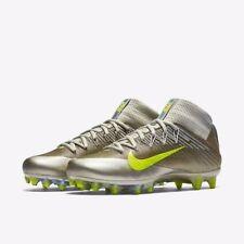Nike Vapor Untouchable 2 Size 12 Wolf Grey Platinum Volt 824470-010 Football