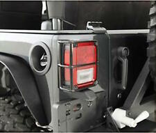 07-17 Jeep Wrangler (JK) Black Tail Light Guards SmittyBilt