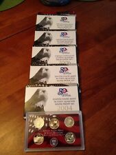 2004-2009 Silver Statehood Proof sets