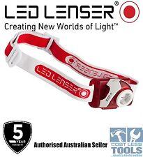 Led Lenser SEO5 Red Headlamp -  Authorised Australian Seller