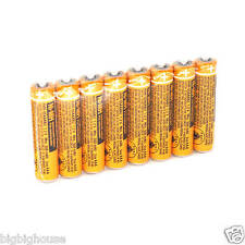 8PCS HHR-55AAABU For Panasonic Cordless phone AAA Ni-MH Battery 550mAh