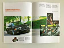 BMW INDIVIDUAL Brochure 8er E31 Z3 3er E36 5er E39 7er E38 - 1998