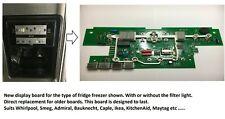 Smeg Fridge Freezer Front Display Board PCB (Improved Version)